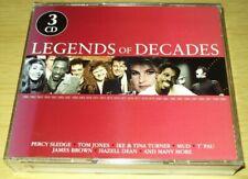 Legends Of Decades - Various Artists (No Date Triple CD Album)