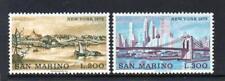 SAN MARINO MNH 1973 SG960-961 INTERPEX STAMP EXHB & NEW YORK