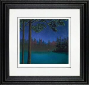 Mackenzie Thorpe -  Bless Your heart - Framed Limited Edition
