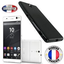 Coque Housse Silicone Noir Souple pour Sony Xperia C5 Ultra