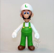 "Nintendo Super Mario Bros 1 Pcs 5"" Fire Luigi Figure Free Shipping"