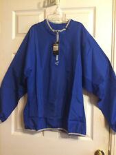 Easton Mens Royal Blue M5 Long Sleeve Breathable Cage Jacket Size L