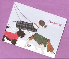 Scottish Terrier Scottie English Pointer Beagle Christmas Cards Box of 10 Usa