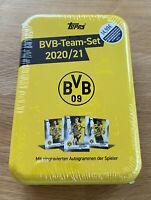 Topps - Borussia Dortmund Team Set Mega Tin 2020/21 mit Autogrammkarten