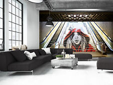 Graffiti in the Metro Wall Mural Photo Wallpaper GIANT WALL DECOR PAPER POSTER