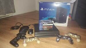 PS4 PRO console 15 games 4 controllers and tactical commander