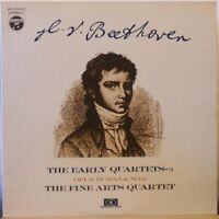 THE FINE ARTS QUARTET Beethoven: Early Quartets: Opus 18 (No. 5 & No.6) LP Japan