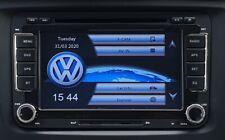 "VW T5.1 2010 - 2015 HD DVD SD GPS SAT NAV 7"" BLUETOOTH USB CANBUS UK SELLER"