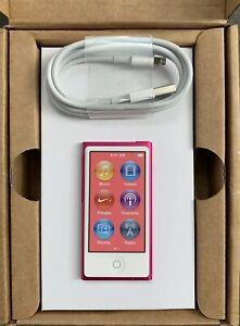 Apple Ipod Nano 7. Generation 7G (16GB) Pink Collectors RAR New