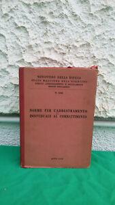 MILITARIA MANUALE ADDESTRAMENTO INDIVIDUALE COMBATTIMENTO ANNO 1952 COLLEZIONE