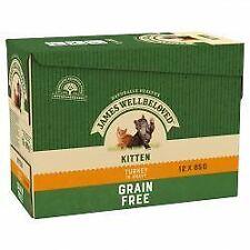 JAMES WELLBELOVED Kitten Grain Free Pouches with Turkey in G - 85g - 434116