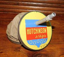 ANCIEN GONFLEUR A MAIN HUTCHINSON A L'AIGLE 1950 POMPE A AIR . VELO CAMPING .TBE
