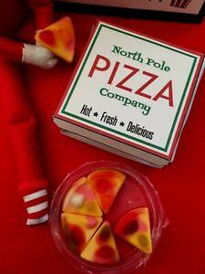 CHRISTMAS ELF ACCESSORIES FUN CHILDRENS GAMES NAUGHTY ELF PIZZA PROP