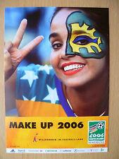 WORLD CUP 2006- MAKE UP 2006 (GERMANY 2006 DEUTSCHLAND): Sport Postcard