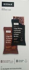 RXBAR Protein Bar Variety Pack, 16 bars x 1.83 Oz, 8 Peanut Butter & 8 Chocolate