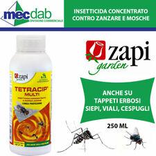 Insetticida Concentrato Contro Mosche e Zanzara Tigre Zapi Tetracip 250 ML