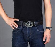 Belt Buckle Mens Wolf Hiphop Fashion Jeans Accessories Fit 4cm Wide Belt