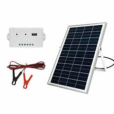 ECO-WORTHY 25 Watt 18Volts Solar Panel Kits: 25W Poly Solar Panel + 3A Charge Co
