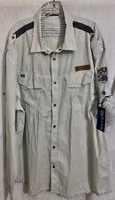 Marithe Francois Girbaud ..Mens L/S Shirt..3XL.. New ..Rare Find! Big & Tall