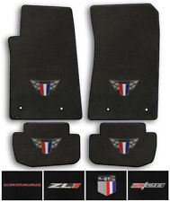Lloyd Carpet 4pc Floor Mats for 2010-2015 Chevrolet Camaro - Choose Color & Logo