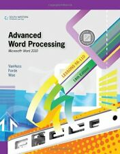Advanced Word Processing, Lessons 56-110: Microsof