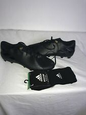 Adidas Nemeziz Mens Black Foot Ball Boots And Socks Brand New Ref Wa Uk 10.5
