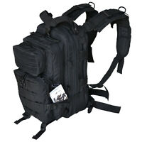 Every Day Carry Tactical Assault Bag EDC Day Pack Backpack w/Molle Webbing Black