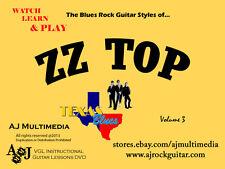 Custom Guitar Lessons, Learn Guitar of ZZ Top v3