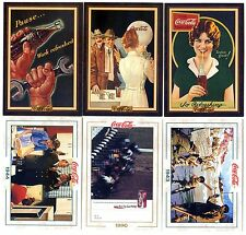 COCA COLA Lot de 6 Cartes NEUVES DIFFERENTES Lot N° CCLA 79