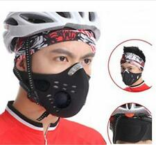 Super Anti Dust Cycling Bicycle Bike Racing Ski Half Face Mask Filter HU