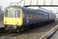 British Rail Class 104 Chappel & Wakes Colne 1982 Rail Photo