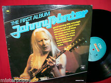 JOHNNY WINTER rare Promo only LP ITALY Unique laminated Art Cover MINT