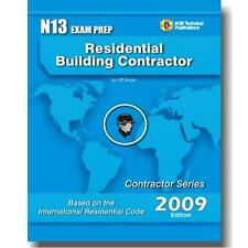 N13 National Standard Residential Building Contractor Exam Questions Workbook