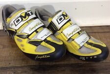DMT Competition Cycling Shoes- Euro Size 38- Energy Traction System R3- Yellow