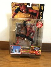Spider-Man 2 Shoot And Slide Collectible Action Figure Toy Biz Marvel SEALED