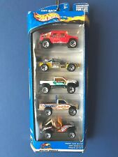 Hot Wheels 2002 4x4 Monsters 5 pack Hummer Jeep Mega Duty Path Beater Roll Cage