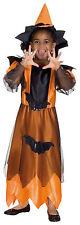 Gr 128 6-7 Jahre Hexenkostüm Mädchen Hexe Karneval Halloween Kostüm R 12203