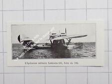 1932 L'Hydravion militaire Latécoère-381, Frère du 380