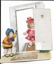 three dimensional valentines day card circa 1921