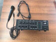 MONACOR PA-888 AMPLIFICATORE MIXER MONO PA 100VOLT 2 ING MIC 100W SONORIZZAZIONE