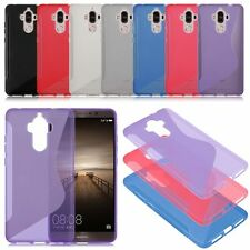 S-Line Wave TPU Gel Silicone Soft Slim Back Case Cover For Various model Phones