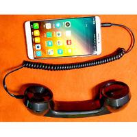 Robustes 3,5 Mm Retro Telefon Telefonempfänger Mobiltelefon für  Classic