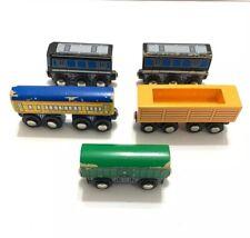 LOT OF 5 Maxim Enterprise Lionel Magnetic Wooden Trains Heritage Series 2006