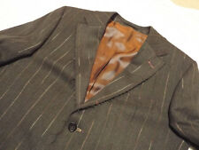 HOLLAND ESQUIRE Pinstriped Jacket 🌍 Size 40 🌎 RRP £395 📮 WORLDWIDE FREEPOST
