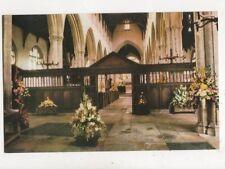 Walpole St Peter Church Flower Festival 1981 Postcard 812a