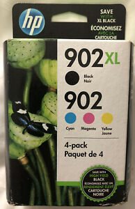 New Genuine HP 902XL/902 (T0A39AN) Ink Cartridge - Combo Pack - Exp Jan 2021