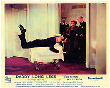 DADDY LONG LEGS ORIGINAL LOBBY CARD FRED ASTAIRE 1955 CLASSIC COLOR
