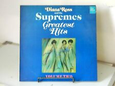 DIANA ROSS AND THE SUPREEMES GREATEST HITS VOLUME 2  VINYL LP MOTOWN