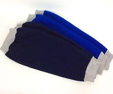 Buck & Buck Unisex Polar Fleece Leg Protectors Warmers 2 Pair Blue Gray Seniors