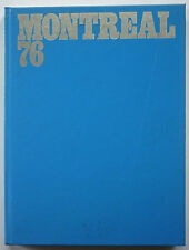 Orig.Book / Report    Olympic Games MONTREAL 1976 - in English/French/Italian !!